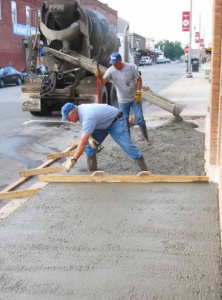 Downtown Houston Inc. won a Community Development Block Grant for new sidewalks downtown.