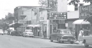 The Melba Theatre in downtown Houston during its early years.